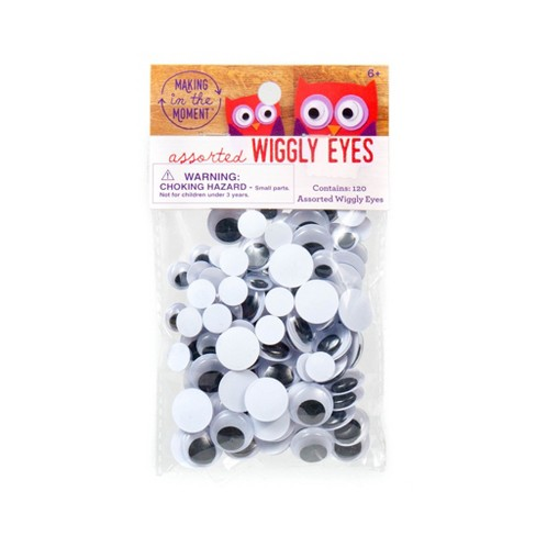 Loose Wiggly Eyes 120ct - Making in the Moment - image 1 of 2