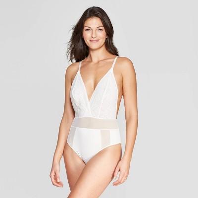 3ed2691d3d Women s Lace Plunge Bodysuit - Auden™
