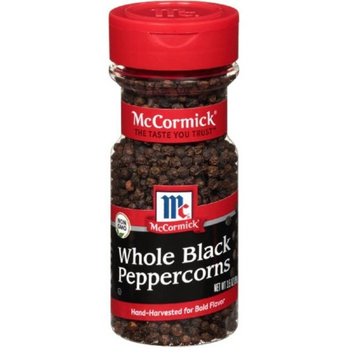 McCormick Whole Black Peppercorn - 3.5oz - image 1 of 4