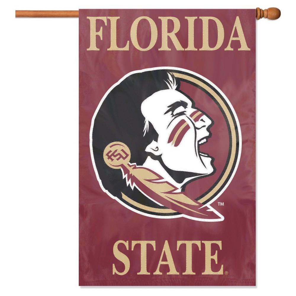 NCAA Team Applique Banner Flag - Florida State Seminoles