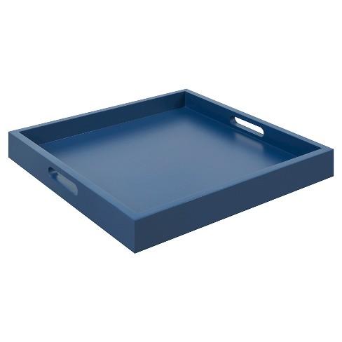 Palm Beach Tray Blue - Johar Furniture - image 1 of 3