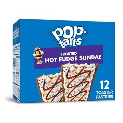 Kellogg's Pop-Tarts Frosted Hot Fudge Sundae Pastries - 12ct/22oz