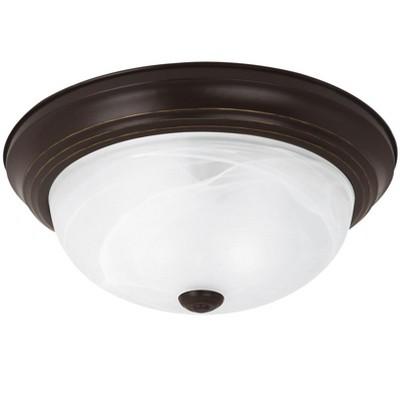 Generation Lighting Windgate 2 light Heirloom Bronze Ceiling Fixture