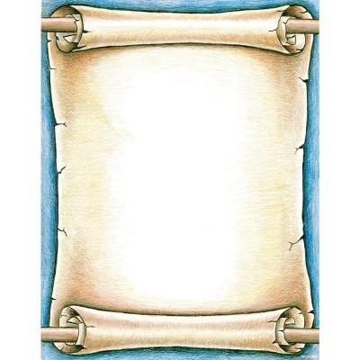 Royal Consumer Scroll Design Printer Paper, 8-1/2 x 11 Inches, 100 Sheets