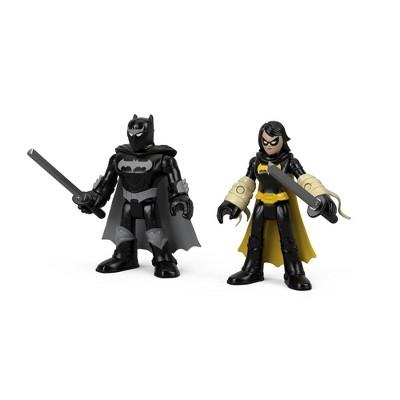 Fisher-Price Imaginext DC Super Friends Black Bat & Ninja Batman