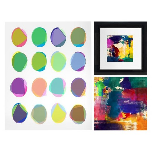 "Beautiful Colors Framed Wall Canvas (24""x16"") - image 1 of 1"