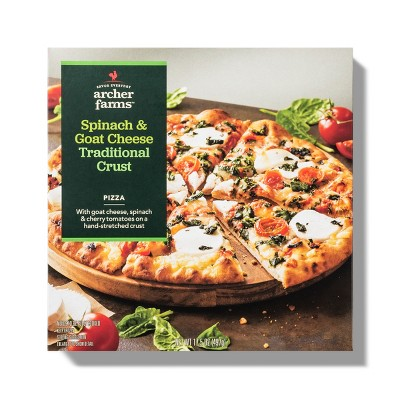 Spinach & Goat Cheese Traditional Crust Pizza - 17.5oz - Archer Farms™