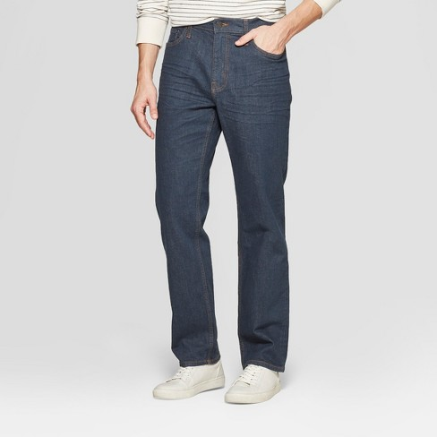 Men's Straight Fit Jeans - Goodfellow & Co™ Blue Gray - image 1 of 3