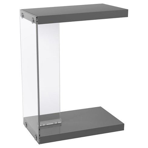 End Table with Tempered Glass - EveryRoom - image 1 of 2