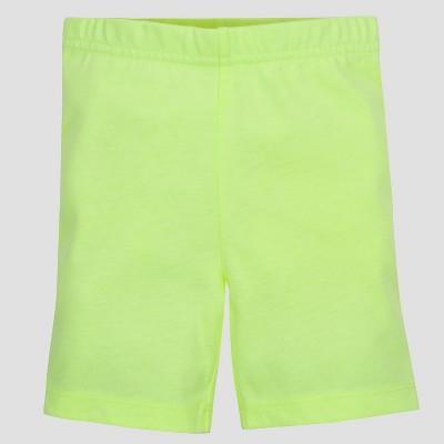 Gerber® Graduates® Toddler Girls' Bike Shorts   Yellow by Yellow