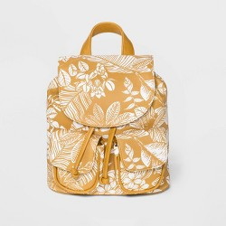 Mini Drawstring Flap Backpack - Wild Fable™