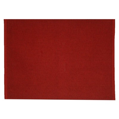 Red Ribbed Placemat 14 x19  - Room Essentials™