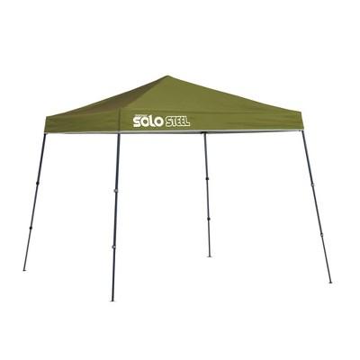 Quik Shade Solo Steel 9x9 Slant Leg Canopy - Green