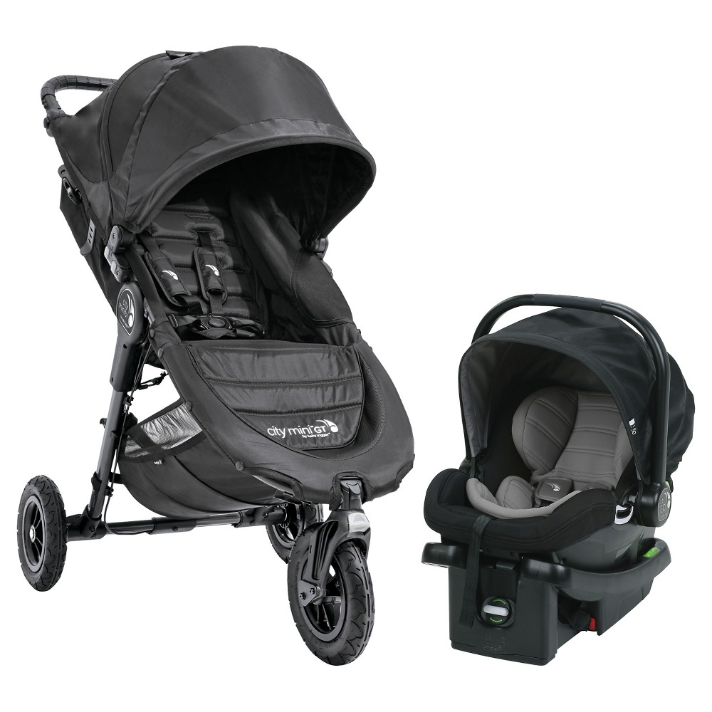 Image of Baby Jogger City Mini GT Travel System - Black