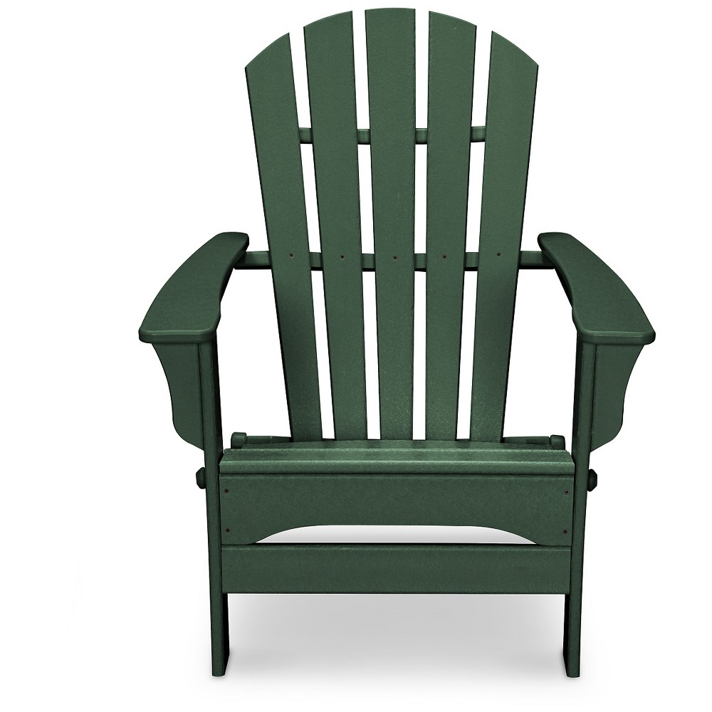 Polywood St Croix Green Patio Adirondack Chair - Exclusively At Target