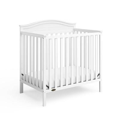Graco Stella 4-in-1 Convertible Mini Crib with Bonus Mattress