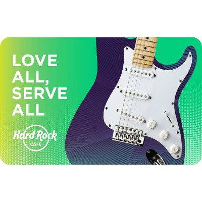 Hard Rock Cafe Gift Card $50 (Email Delivery)