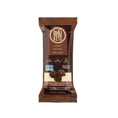 BHU Keto Double Chocolate Cookie Dough Bar - 1.6oz