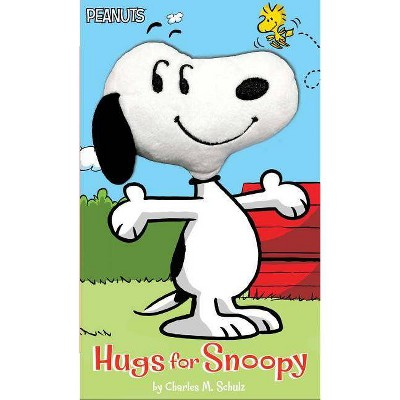 Hugs for Snoopy - (Peanuts) by  Charles M Schulz (Board Book)