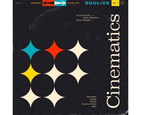 Soulive - Cinematics Vol 1 (Vinyl) - image 1 of 1