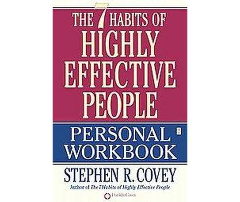 7 Habits of Highly Effective People : Personal (Workbook) (Paperback) (Stephen R. Covey) - image 1 of 1