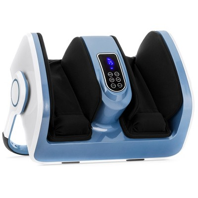 Best Choice Products Air Compression Reflexology Shiatsu Calf Foot Therapeutic Massager w/ Heat, High-Intensity Rollers