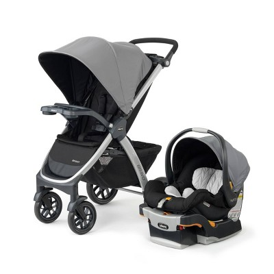 Chicco Bravo 3-in-1 Quick Fold Travel System - Camden