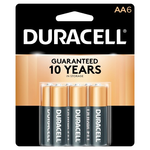 Duracell CopperTop AA Alkaline Batteries - 6 ct - image 1 of 1