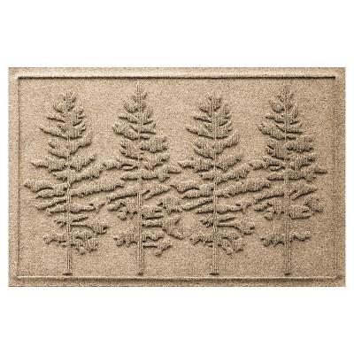 Camel Solid Doormat - (2'X3')- Bungalow Flooring