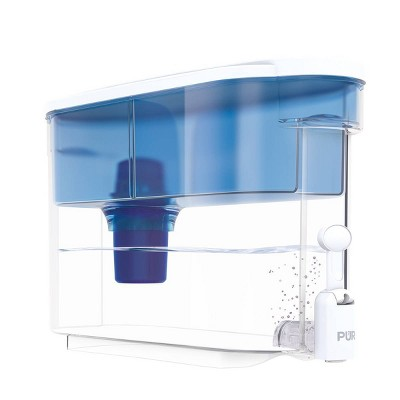 PUR Classic 30-Cup Water Dispenser Filtration System - Blue/White