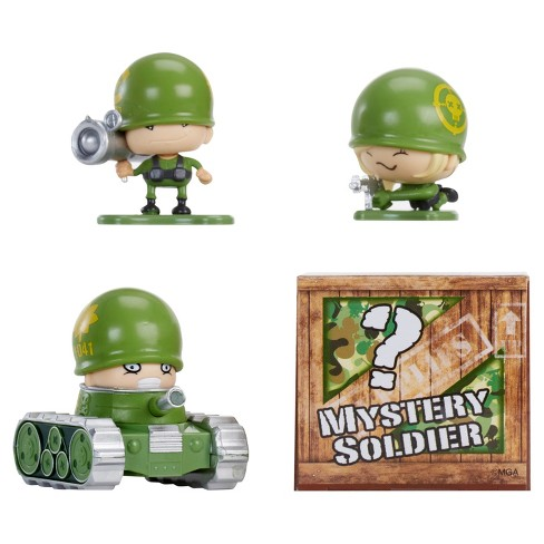 Awesome Little Green Men Starter Pack Series 1- Sharp Shooters 4pc - image 1 of 5