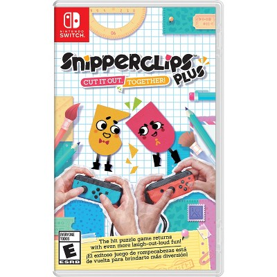 Snipperclips Plus - Cut it out, Together! - Nintendo Switch