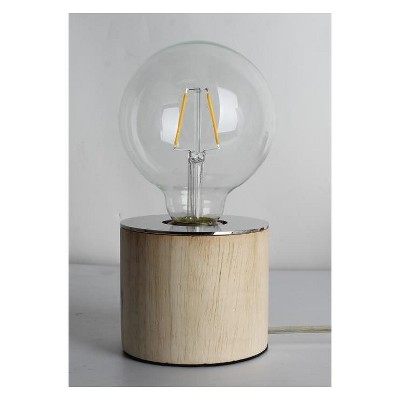 Edison Bulb Accent Table Lamp Light Brown - Room Essentials™
