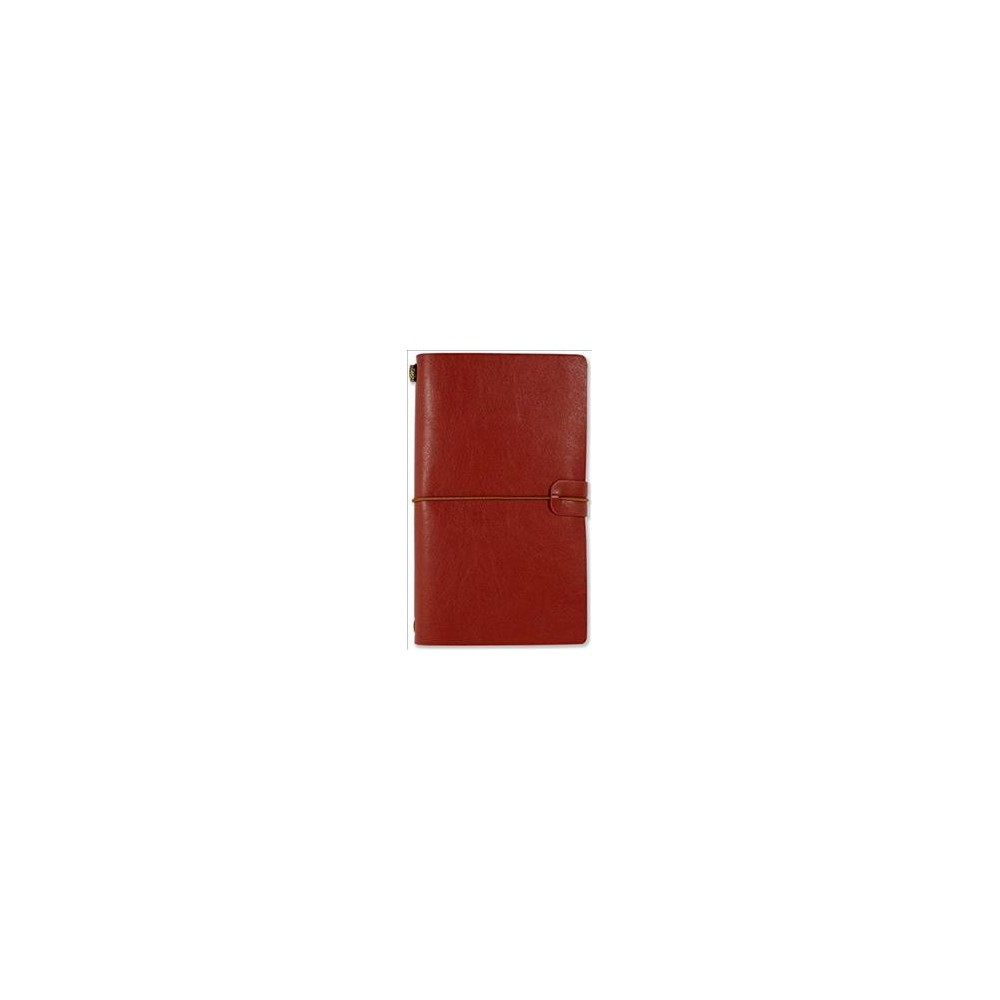 Burgundy Voyager Notebook - (Hardcover)