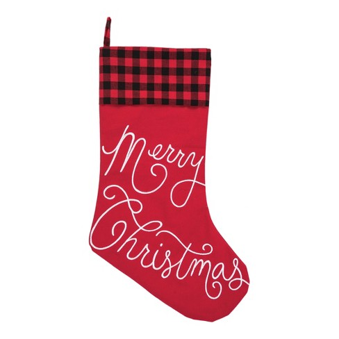 C&F Home Merry Christmas Stocking - image 1 of 1