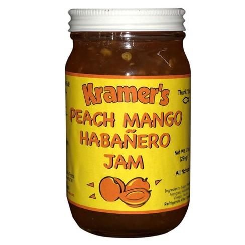 Kramer's Peach Mango Habenero Jam - 8oz Jar - image 1 of 1