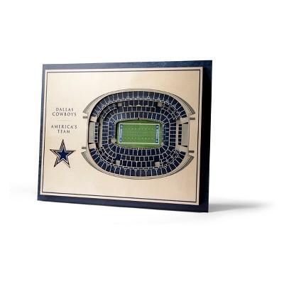 NFL Dallas Cowboys 5-Layer StadiumViews 3D Wall Art