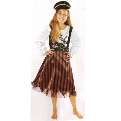 Northlight Pirate Girl Halloween Children's Costume - Ages 4-6 Years
