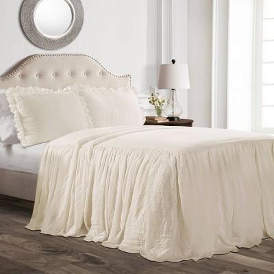 Ruffle Skirt Bedspread Set - Lush Décor
