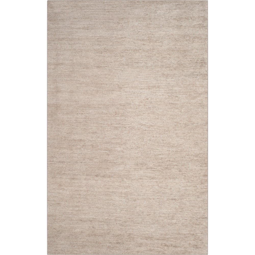 5'X8' Solid Knotted Area Rug Gray - Safavieh