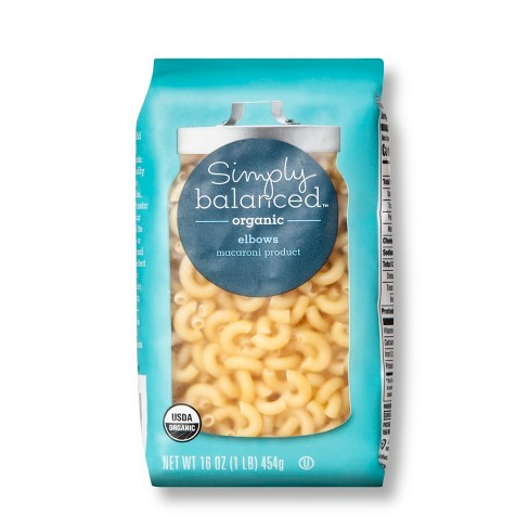 Organic Elbow Macaroni Pasta - 16oz - Simply Balanced™ - image 1 of 1