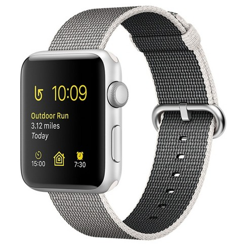 Apple® Watch Series 2 Aluminum Case Woven Nylon Band - image 1 of 3