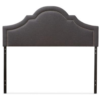 Rita Modern And Contemporary Fabric Upholstered Headboard - Baxton Studio