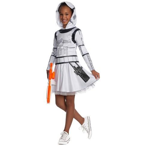 Girls' Star Wars Stormtrooper Halloween Costume - image 1 of 1