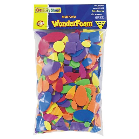 Chenille Kraft Wonder Foam Shapes 720pc - image 1 of 1