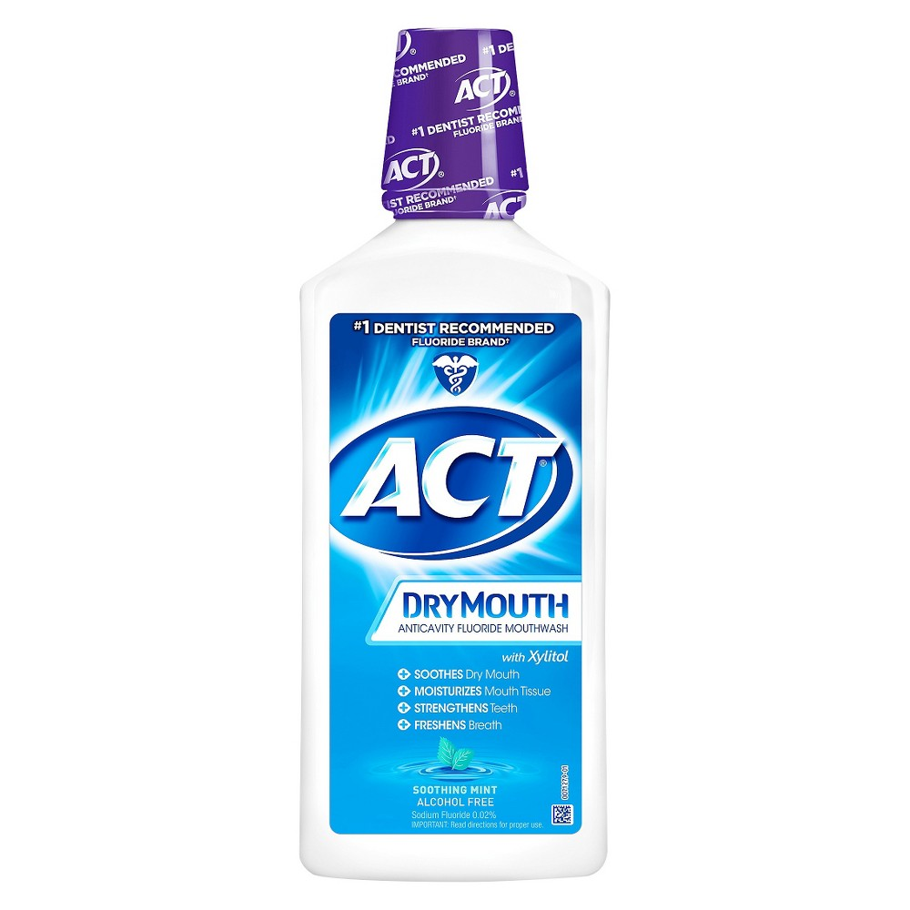 Act Dry Mouth Rinse - 33oz