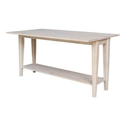 Prevail Flip Open Console/Sofa Table - International Concepts