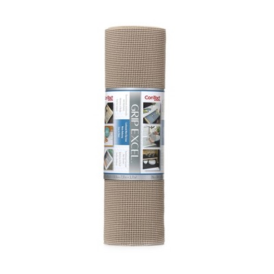 """Con-Tact Grip Excel Single Pack 20""""x24' Taupe"""