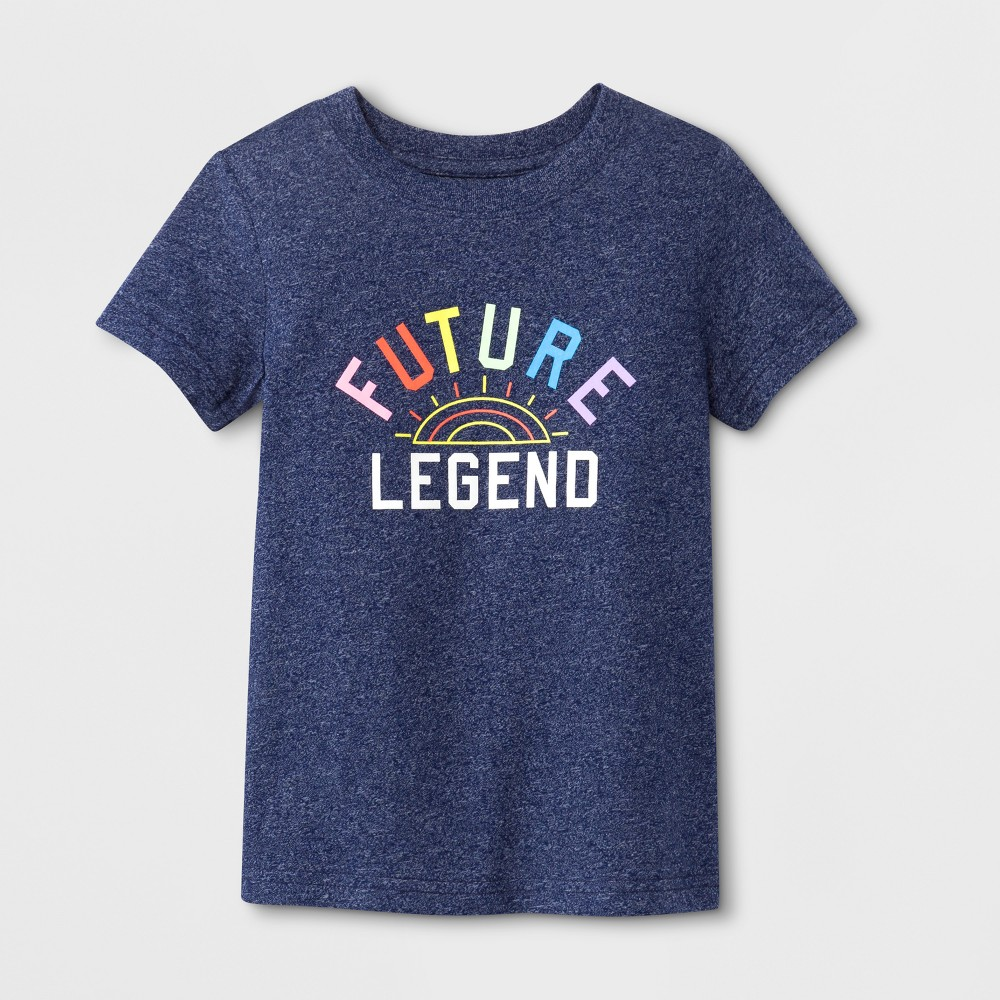 Toddler Boys' Future Legend Short Sleeve T-Shirt - Cat & Jack Navy 4T, Blue