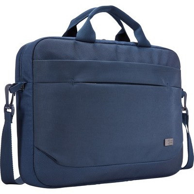 "Case Logic Advantage ADVA-114 DARK BLUE Carrying Case (Attaché) for 10"" to 14.1"" Notebook - Blue - Polyester"